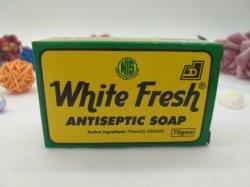 Private Label естественного цвета кожи затягивая ванной туалетного мыла, грибковыми духи мыло