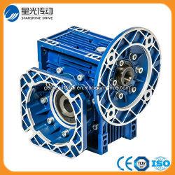 Rv-Serien-materielles Endlosschrauben-Aluminiumgetriebe mit Ausgabe-Flansch