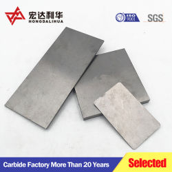 Folha de carboneto de tungsténio para o processamento de ferramentas de corte de metais de madeira