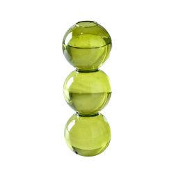 花のための熱いクリスタル・ボールの泡芸術のガラスつぼ