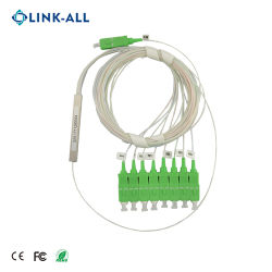 De passieve 900um Input-output 1X8 APC van Sc PLC Module van de Splitser