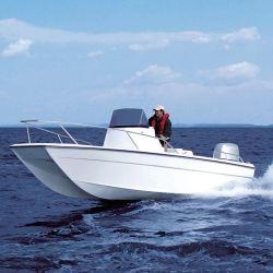 6.54m/22FT Catamaran Moteur hors-bord de l'aluminium bateau grande vitesse