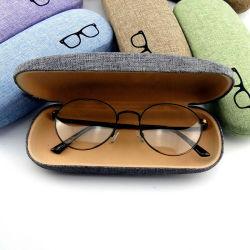 Logo personnalisé Stock Boîte de lunettes de verres de lunettes de cas d'emballage de stockage