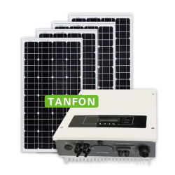 격자에 의하여 연결되는 태양 변환장치 3kw 4kw 5kw 7.5kw