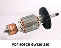 Herramientas eléctricas amoladora angular del rotor para Bosch GWS20-230