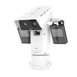 축선 Q8741-LE 끝없는 팬 하나 전망 - 2개의 bispectral 비디오 스트림 열 및 1 IP 주소를 가진 통신망 사진기를 설치하게 쉬운 것에 있는 시각적인 감시