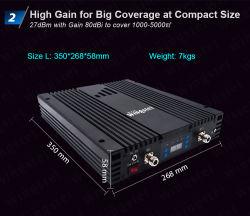 지적인 GSM 3G Lte WiFi 중계기 인터넷 이동할 수 있는 신호 승압기 RF 까만 고성능 증폭기