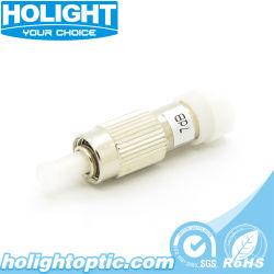 Mâle/Femelle à fibre optique monomode 1-30dB atténuateur de FC/UPC