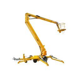 Factory Direct plate-forme rotative pour soulever la machine de nettoyage de travail de l'antenne 12m 14m de l'articulation de relevage de rampe d'araignée