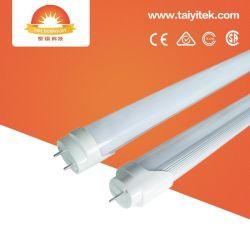 Indoor 900mm 1200mm 80lm/W 16W 22W 5000K T8 du feu du tube à LED