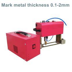 공장 조각 CNC 공압 핀 마킹 기계 데스크탑 로터리 메탈 플랜지 도트 펜 마킹 기계