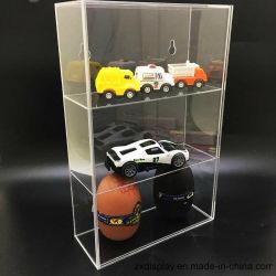 3 couches plexiglas transparent modèle Cas d'affichage avec porte de voiture