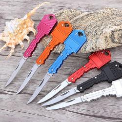 Aço inoxidável mini chave dobra a faca