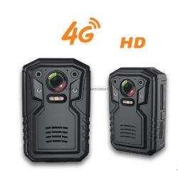 4G GPS van WiFi van de Steun van de Camera HD van LTE de Draagbare Lichaam Versleten Levende Video van de Versie van de Nacht