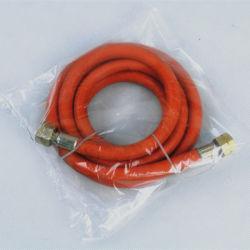 Flexible de 1/4 pouces plastique résistant à l'huile du tuyau en PVC de couleur orange