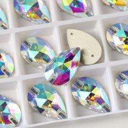 Machinaal gesneden Glass Sew op Stone S voor Wedding Dress