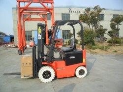 Quatre roues 1.5T 2t 3m 4.5m 5m 6m Fonctionnement sur batterie du chariot élévateur électrique avec prix d'usine