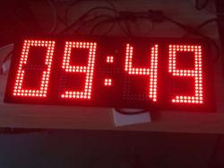 شاشة LED لضبط درجة حرارة مؤقت ساعة IP67 الخارجية كبيرة الحجم