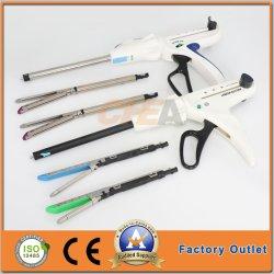 병원 외과 장비 의료 기기 Disposacle 내향 Gia 선형 봉합 스테이플러