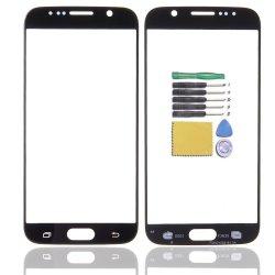 De voor Vervanging van de Reparatie van de Lens van het Glas van het Scherm Buiten voor de Melkweg van Samsung S6