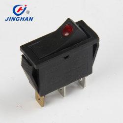 Jinghanのオーブン、コーヒーメーカー、スターラー、電力ソケット、中国の製造業者のための小型照らされたロッカースイッチ
