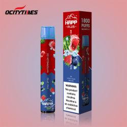 Mini cigarette électronique 1800bouffées 2 stylo jetable Falvors vaporisateur