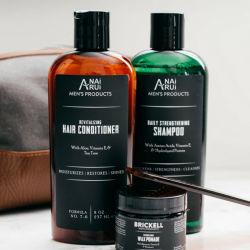 Шампунь и кондиционер, мягкий глубокую чистку Anti-Dandruff органических природных алоэ и витамином Е продукты для ухода за волосами для мужчин