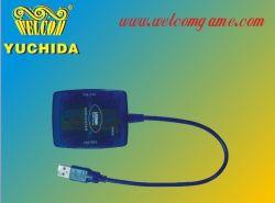 Bleu cristal Câble convertisseur Adaptateur USB pour PC(nous-202)