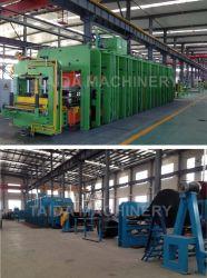 Резиновые ленты конвейера нажмите Vulcanizing машины завод производственной линии