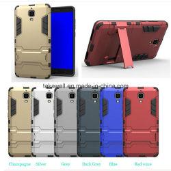 Neuer Product Wholesale Handy Accessory PC+TPU Hybrid Iron Man Armor Fall für Xiaomi 4 Handy Cover Fall