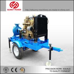 30kw Pompe à eau Diesel avec remorque mobile