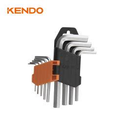 Le kendo 9PC CRV court jeu de clés Allen hexagonal métrique