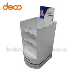 Ponto de exibição do papel do Visor de papelão Purcahse compartimentos de Descarga
