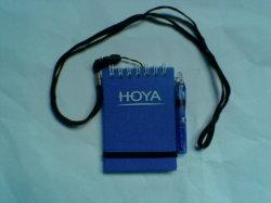 Petite note Book avec stylet et Landyard (HM-111)