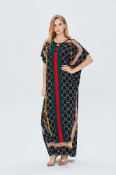 2021 Nueva llegada Plus árabe musulmán de tamaño medio Oriente Dubai Ladies túnica larga vestimenta islámica