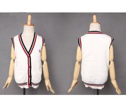 Veste en tricot Pattern 2016 Enfants Enfant chandail sans manches et col V gilet pull