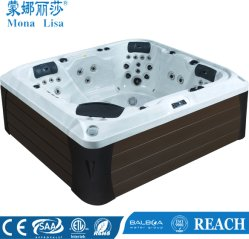 Monalisa conception spéciale de luxe Jacuzzi massage spa en plein air (M-3388)