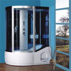 Pièce de vapeur hydraulique de cabine de douche de vente de modèle chaud de coin
