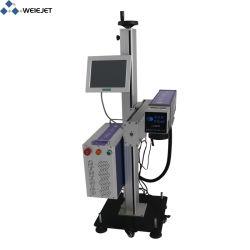 20W de industriële Laser die van de Vezel Machine voor de Pijp van pvc/Metaal/Horloges/het Geval van de Camera merken/van de Telefoon