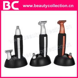 2 в 1 Электрический триммер для подстригания волос в носу и ушах с помощью света (BC-0809)