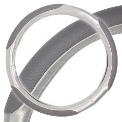 Proteção de prata Fabric TAMPA VOLANTE DE DIRECÇÃO