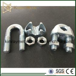 Morsetto/Clip Per Cavo In Ferro Malleabile Din741 Galvanizzato