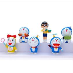 Klassische japanische Zeichentrickfilm-Figur-VinylDoraemon Vorgangs-Abbildung Belüftung-Ansammlungs-Puppe-Modell-Figürchen-Spielwaren-Kind-Kind-Geschenk-Ansammlung