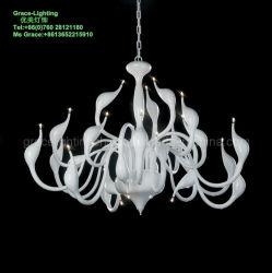 現代LEDのペンダント灯の創造的な白鳥のシャンデリア(GD-8052-24)