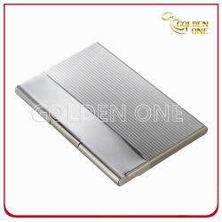 Valigetta porta carte di credito business in metallo quadrato Break Line
