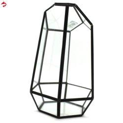 Piantatrice geometrica della decorazione di vetro di cerimonia nuziale per il regalo del centro di cerimonia nuziale