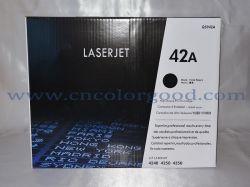 HPのための黒いオリジナルQ5942Aの高いページの収穫レーザーのインクジェット・プリンタの消費可能な42Aトナーカートリッジ