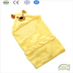 Soins de la peau Swaddle Coral Fleece bébé douche/nouveau bébé un sac de couchage