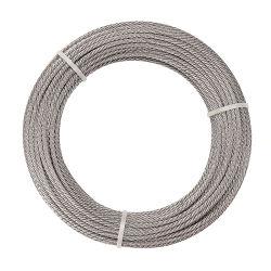 0.3-10 mm cable metálico de acero inoxidable 304 316 1*7*7, cable