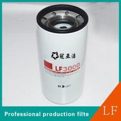 Filtre à huile de la cartouche de pièces automobiles pour les moteurs Cummins LF3000